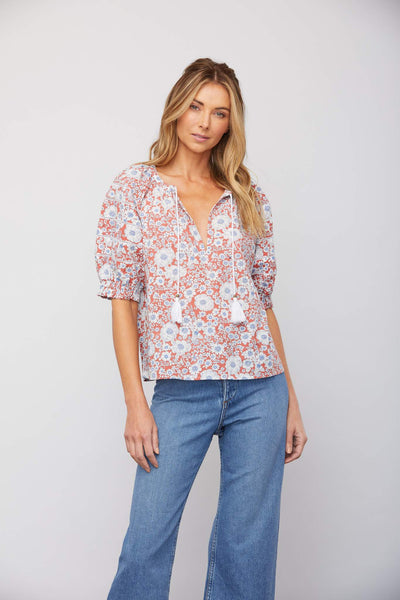 Sundays Jackson Top in Pompeii Floral