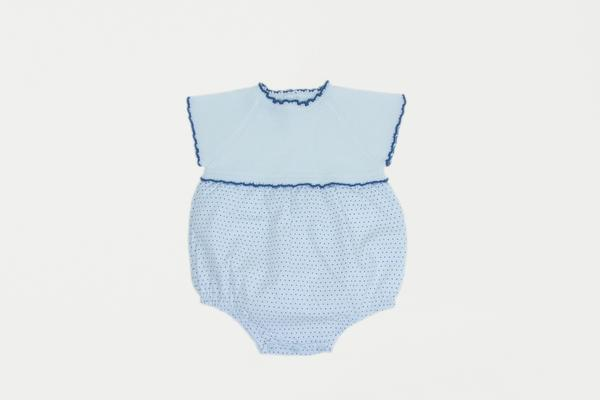 Cuclie Baby Polka Dot Bubble Romper in Toddler Size