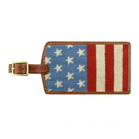 Smathers & Branson Stars and Stripes Luggage Tag