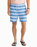 Southern Tide Men's Gradient Stripe Swim Trunk