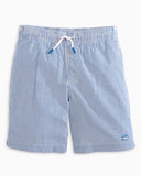 Southern Tide Youth Seersucker Swim Trunk