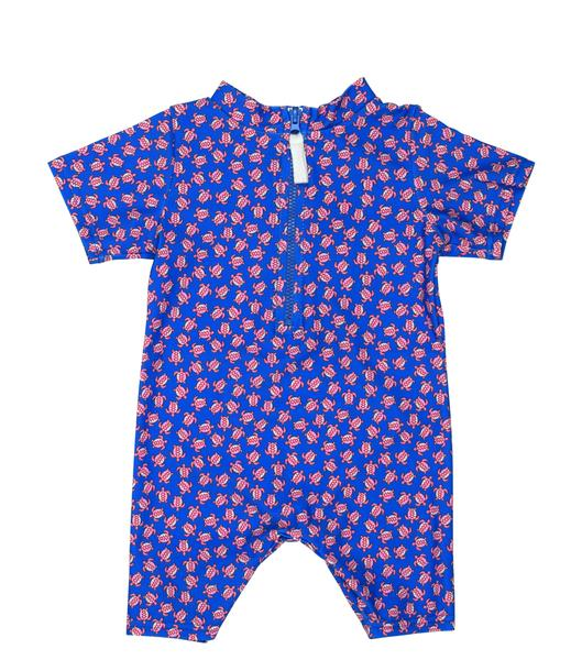 Toobydoo Baby Sun Suit Colbalt
