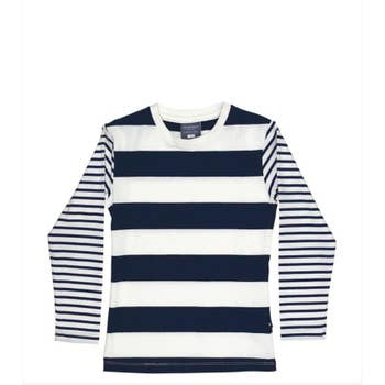 Toobydoo Nautical Stripe Tee