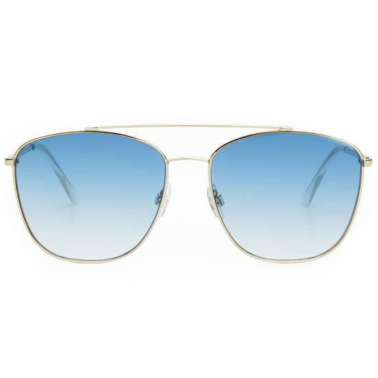Freyrs Remy Sunglasses - Gold/Blue