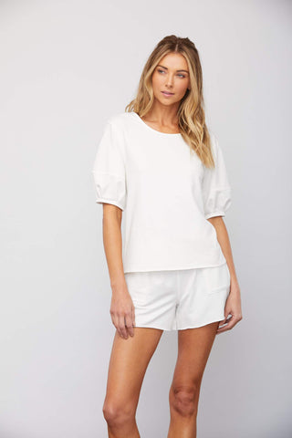 Sundays Angelina Top in White