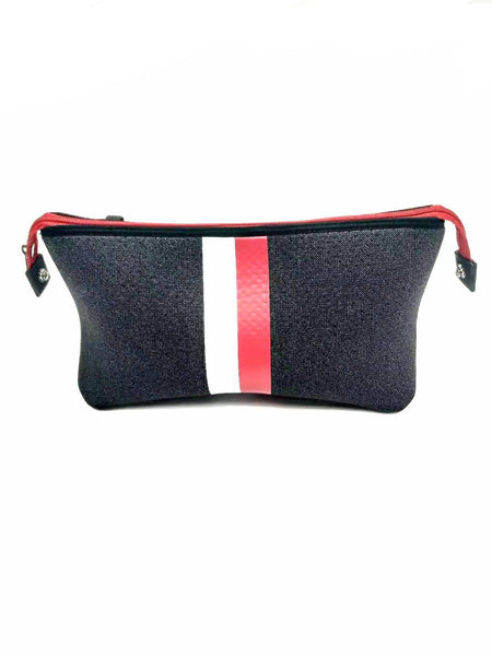 Haute Shore Kyle Toiletry Bag in Black Denim