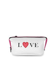 Haute Shore Erin Cosmetic Bag in White Coated