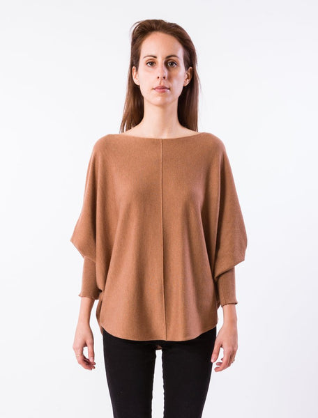 Kerisma Ryu Lin Top in Dark Camel