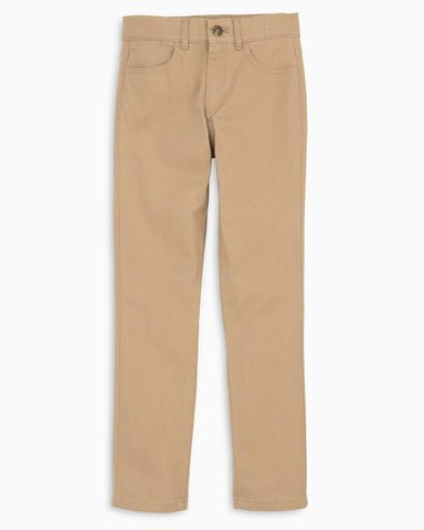 Johnnie-O Parsons Jr Pant in Khaki