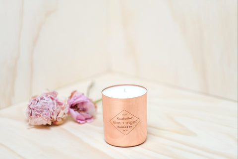 Vim and Vigor Mainline Candle Peony and Jasmine-8oz