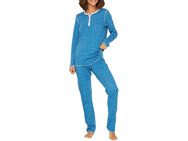 Roller Rabbit Women's Starry Night Pajamas in Blue