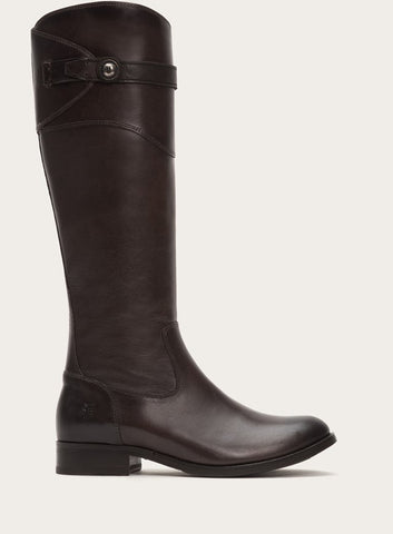 FRYE Molly Button Tall Boot in Dark Grey