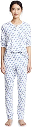 Roller Rabbit Women's Moby Pajamas in Blue