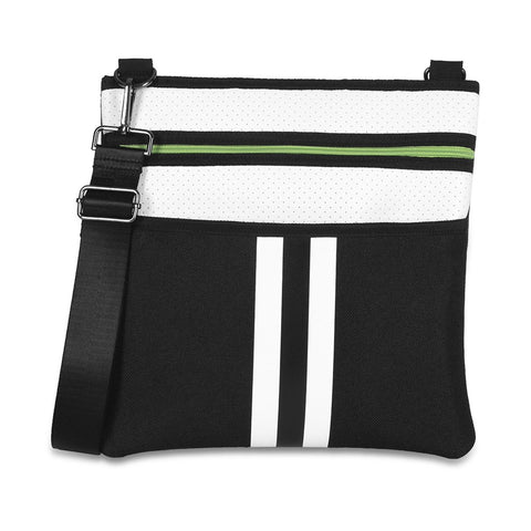 Haute Shore Peyton Crossbody Prop Black and White