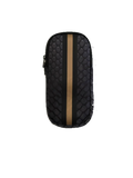 Haute Shore Ev Glasses Case Smoke in Black croc/black rosegold