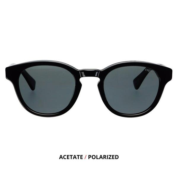 Freyrs Clark Mens & Womens Acetate Sunglasses In Black