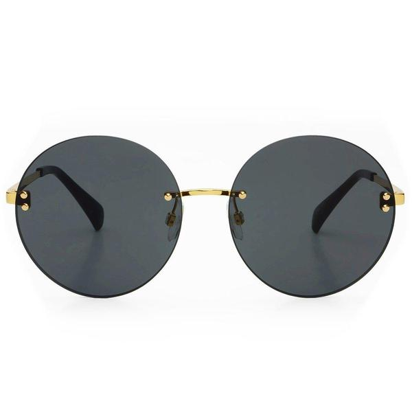Freyrs Lisa Sunglasses In Gold/Gray