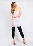 Lysse Leggings Tank in White