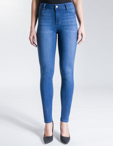 Liverpool Abby Skinny Jeans in Hydra Stone