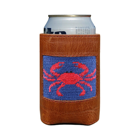 Smathers & Branson Crab Can Cooler in Navy