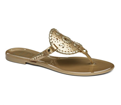 Jack Rogers Georgica Jelly in Gold