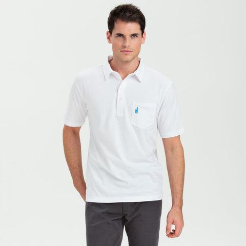 Johnnie-O The Original Polo Shirt in White
