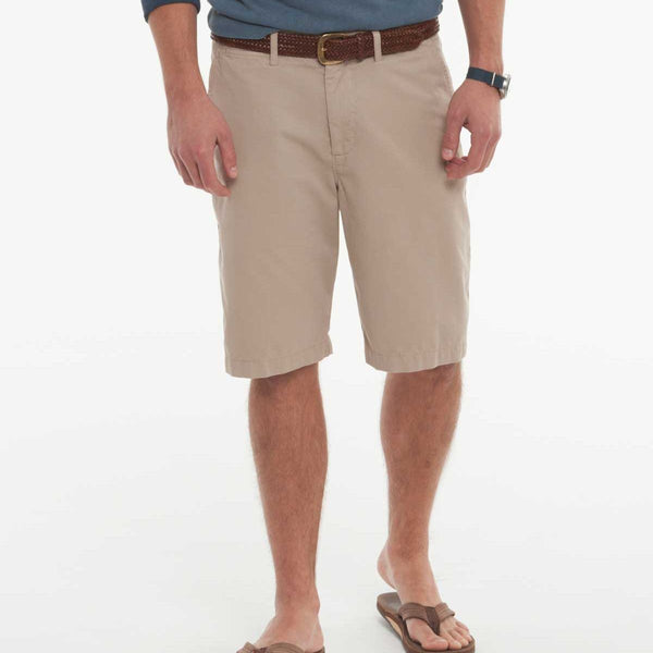 Johnnie-O Derby Chino Shorts in Khaki