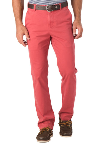 Southern Tide Skipjack Pant  in Charleston Red