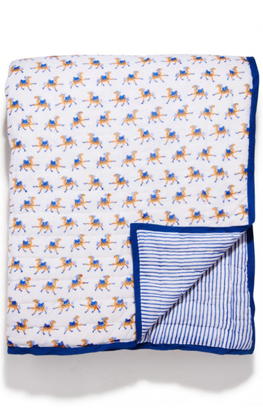 Roberta Roller Rabbit Baby Quilt Baba the Camel