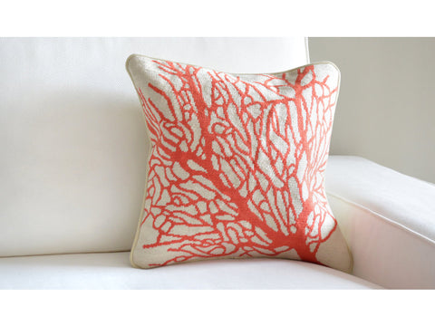 Coral Pillow - Beige
