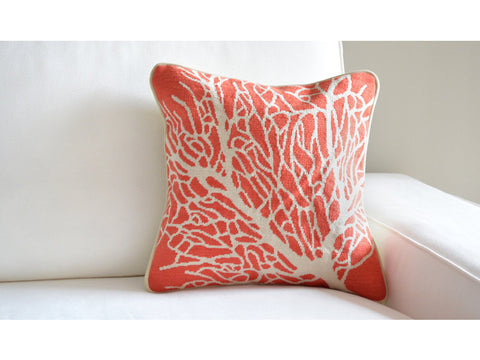 Smathers & Branson Coral Pillow