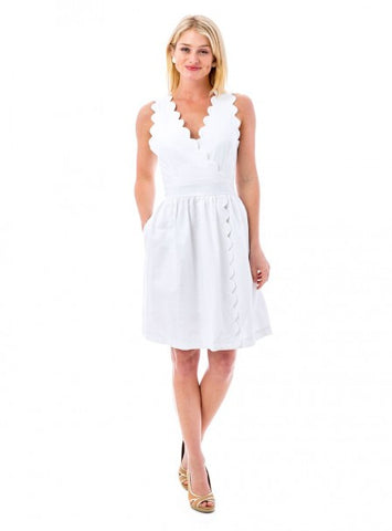Harbour Island Dress in White