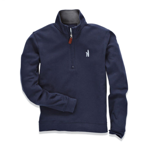 Johnnie-O Balboa Jr. 1/4 Zip Pullover in Pacific