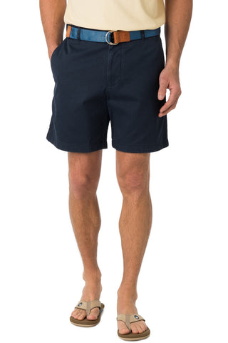 "Skipjack Short 7"" in True Navy"