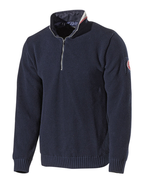 Holebrook Classic Sweater in Navy