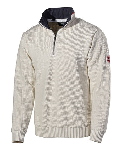 Holebrook Classic Sweater in Off White