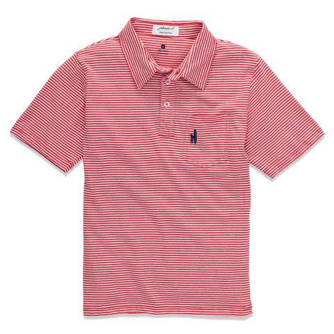 Johnnie-O Jack Jr. Polo Shirt in Watermelon