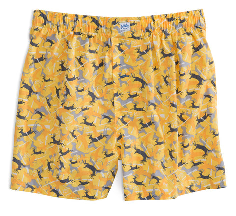 Camo Boxer in Yellow
