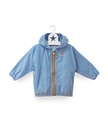 Claude Klassic Kids Rain Jacket in Grapemist