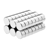 3/8 x 2/10 Inch Neodymium Rare Earth Disc Magnets N42 (42 Pack)