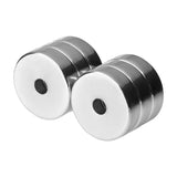 7/8 x 1/4 Inch Neodymium Rare Earth Countersunk Ring Magnets N52 (6 Pack)