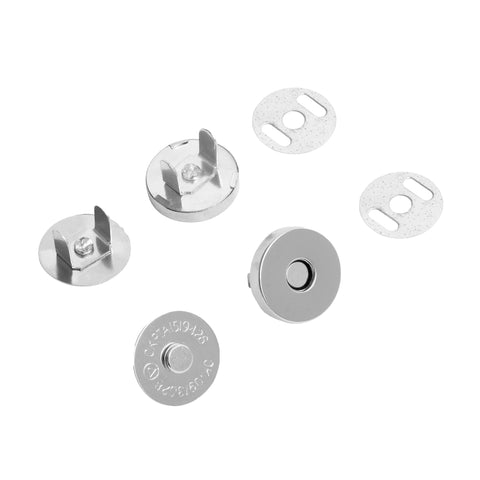 18mm Magnetic Snap Button Clasp/Fastener (100 Pack)