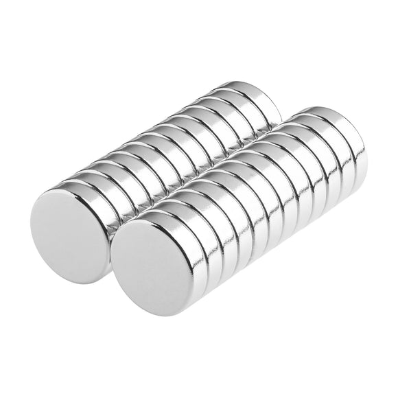1/2 x 1/8 Inch Strong Neodymium Rare Earth Disc Magnets N52 (24 Pack)