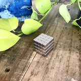 1/4 Inch Neodymium Rare Earth Cube Magnets N52 (64 Pack)