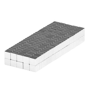 1/8 x 1/8 x 1/16 Inch Neodymium Rare Earth Block Magnets N48 (250 Pack)