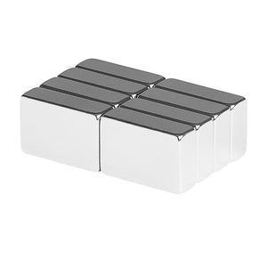 3/4 x 1/2 x 1/4 Inch Neodymium Rare Earth Block Magnets N52 (8 Pack)