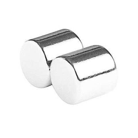 3/4 x 3/4 Inch Neodymium Rare Earth Cylinder Magnets N52 (2 Pack)