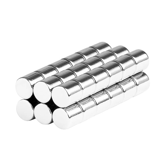 1/4 x 1/4 Inch Neodymium Rare Earth Cylinder Magnets N52 (36 Pack)