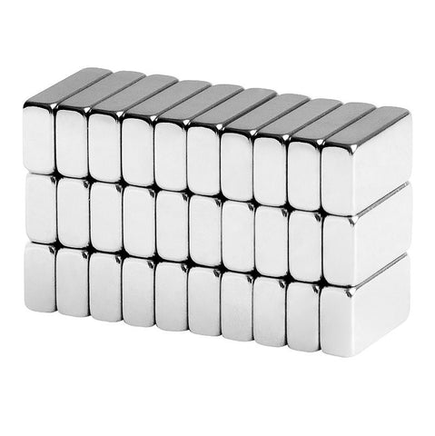 1/2 x 1/4 x 1/8 Inch Neodymium Rare Earth Bar Magnets N42 (30 Pack)