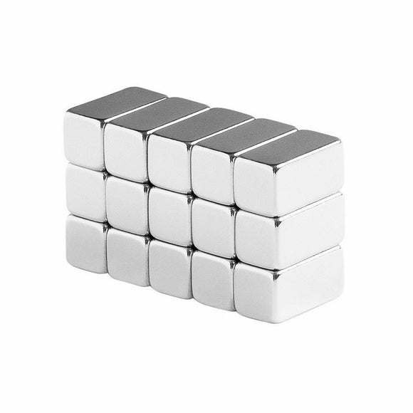1/2 x 1/4 x 1/4 Inch Neodymium Rare Earth Bar Magnets N48 (15 Pack)